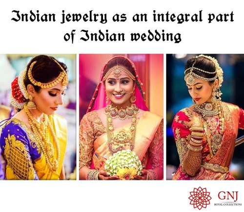 Indian Jewelries As An Integral Part Of Wedding