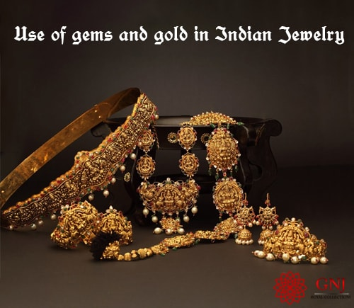 Use Of Gems And Gold In Traditional Jewelry